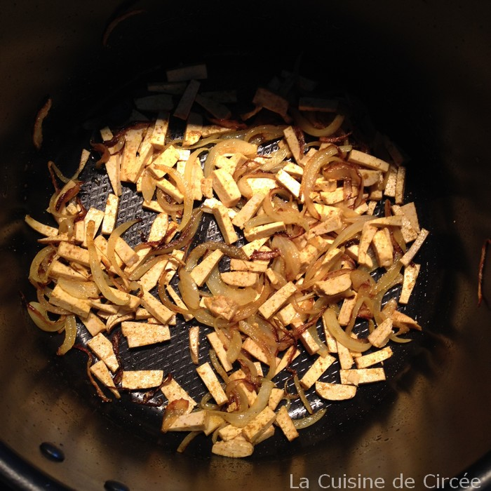 Recette cookeo tofu au quinoa et potimarron cuisinedecircee - Cookeo cuisson sous pression ...