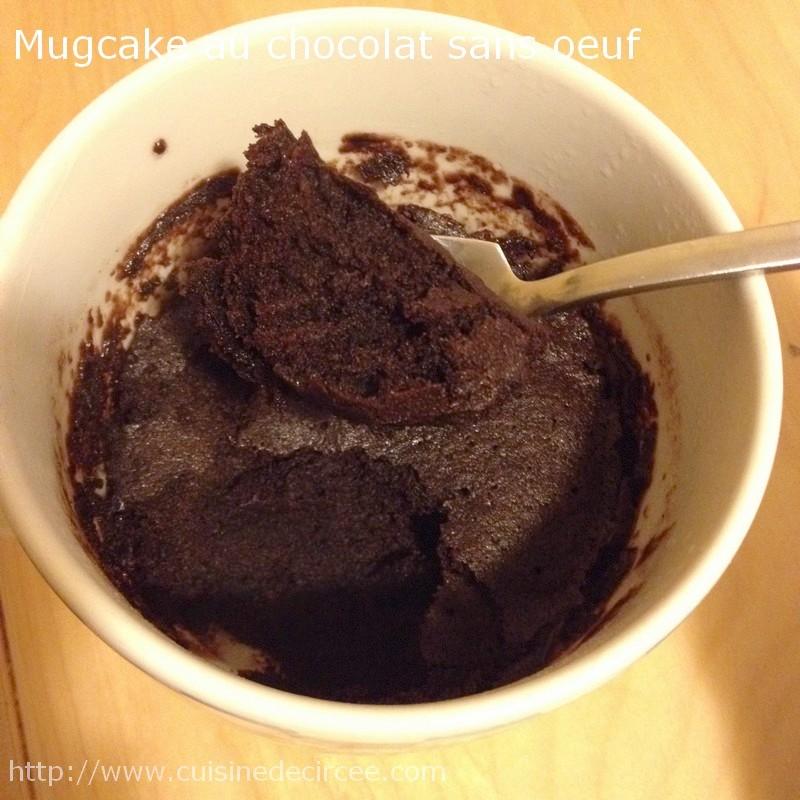 Recette Mug Cake Au Chocolat Sans Oeuf