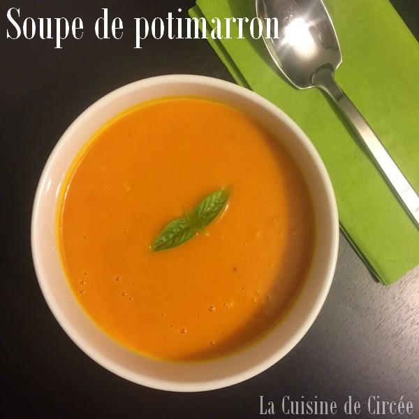 citrouille recette soupe
